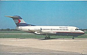 NORCANAIR Fokker F-28-1000 C-GTUU  cs9555 (Image1)
