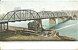 Allentown PA New Leigh River Bridge cs9580 1908 (Image1)