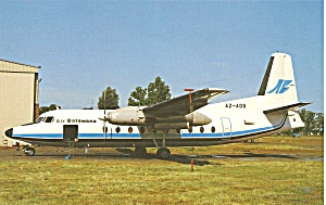 Air Botswanna Fokker F-27-200 At Johannesburg Cs9587