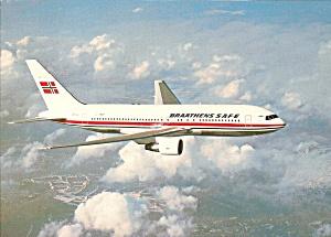 Braathens S A F E 767 Jetliner in Flight cs9594 (Image1)
