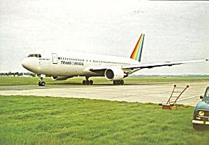 Trans Brasil 767 jetliner on Taxiway cs9599 (Image1)