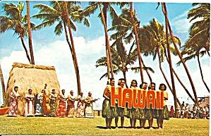 Waikiki HI Kodak Hula Show Postcard cs9621 (Image1)