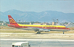 Air Spain DC-8-21 on Taxiway cs9626 (Image1)