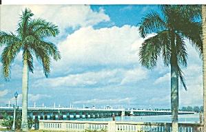 Bradenton FL Mile Long Bridge Over Manatee River cs9631 (Image1)