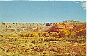 Wyoming Red Bluffs In Big Horn Mountains Area Cs9640
