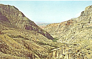 Wyoming Rugged Canyons In Big Horn Mountains Area Cs9641