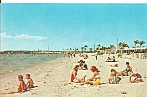 Ruskin FL Bahia Beach Postcard cs9644 (Image1)