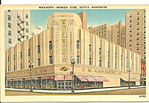 Seattle WA Woolworth Store cs9672 (Image1)