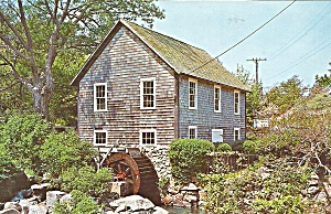 Brewster Cape Cod MA Old Grist Mill Stony Brook cs9676 (Image1)