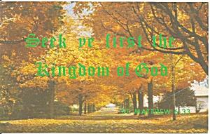 Seek Ye First The Kingdom of God Matthew 6:33 cs9697 (Image1)