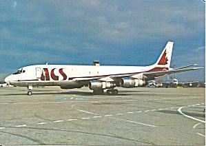 ACS of Canada DC-8-55F C-FCWW at Basel 1987 cs9709 (Image1)