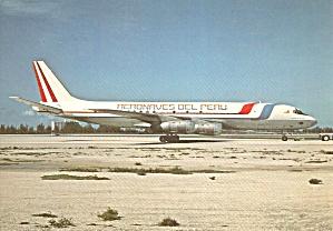 Aeronaves Del Peru  DC-8-55F OB-R-1200 Miami 1981 cs9710 (Image1)