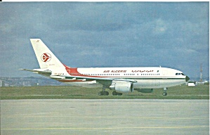 Air Algerie Airbus A310-203 7t-vjc Cs9716