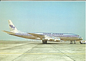 Trans African DC-8-55F N29954 at Oostende Belgium cs9723 (Image1)
