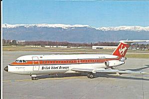 British Airways Virgin Atlantic BAC 1-11432FD at Geneva cs9725 (Image1)