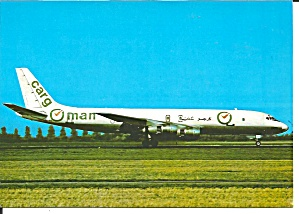 Cargoman DC-8-55F A40-PA At Amsterdam cs9727 (Image1)