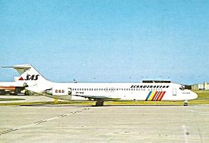 SAS Scandinavian Airlines DC-9-41 OY-KGG at Paris cs9737 (Image1)