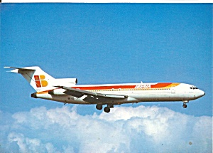 IBERIA 727-256 Advanced Jetliner on Approach cs9738 (Image1)