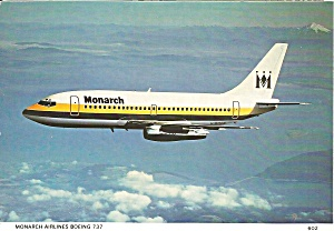 Monarch Airlines 737-200 G-BMON in Flight cs9760 (Image1)