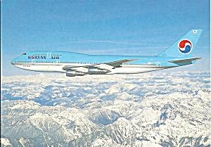 Korean Air 747-3B5 Jetliner in Flight cs9772 (Image1)