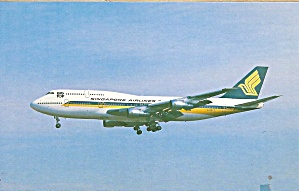 Singapore Airlines 747-312 N118kd Cs9776