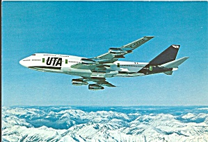 Uta 747-300 Jetliner In Flight Cs9785