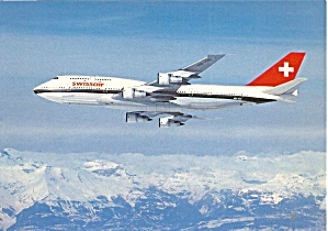 Swissair 747-357 in Flight cs9788 (Image1)