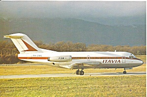 ITAVIA Fokker F-28-1000 PH-ZBG at Geneva cs9806 (Image1)