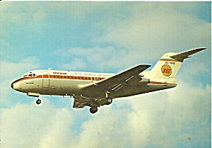 IBERIA  Fokker F-28 EC-BVB at London Heathrow cs9808 (Image1)