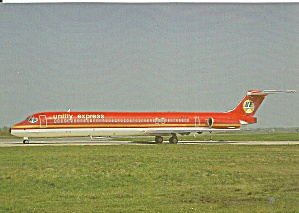 Unifly Express MD-82 EI-BTX at Hannover cs9810 (Image1)