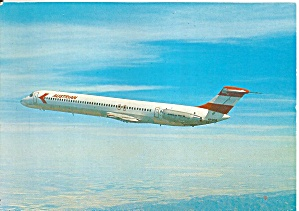 Austrian Airlines DC-9-81 Jetliner in Flight cs9813 (Image1)