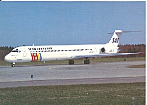SAS Scandinavian DC-9-81 on Taxiway cs9816 (Image1)