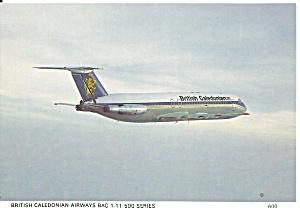 British Caledonian BAC-111 in Flight cs9838 (Image1)