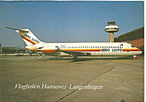 Aero-LLoyd DC-9 D-ALLA at Flughafen Hannover cs9845 (Image1)