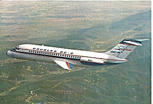 DC-9 in Douglas Factory Colors N9DC in Flight cs9853 (Image1)