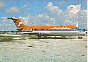 Air Florida DC-9-15F N50AF at Miami cs9857 (Image1)
