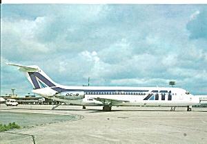 ATI  Aero Trasporti Italiani DC-9-32 I-DIKS at Paris Orly cs9865 (Image1)