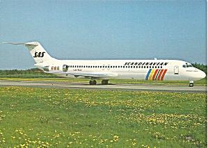 SAS Scandinavian DC--9-41 LN-RLD Jetliner cs9883 (Image1)
