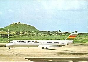 Ghana Airways DC-9-51 9G-ACM Jetliner cs9884 (Image1)