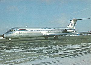 SAS Scandinavian DC--9-41 Jetliner Old Livery cs9885 (Image1)