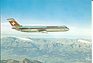 Swissair DC-9-51 HB-ISS Jetliner in Flight cs9890 (Image1)