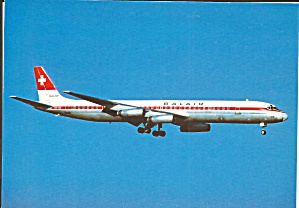 Balair Airlines DC-8-63 Jetliner on Final cs9892 (Image1)
