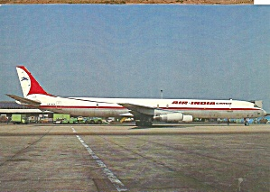 Air India Dc-8-63cf Jetliner Lx-acv Cs9901