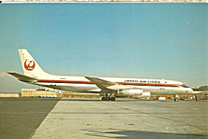 Japan Airlines Dc-8-62f At Los Angeles Cs9908