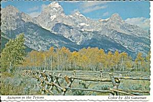 Grand Teton National Park Wyoming Autumn Scene cs9910 (Image1)