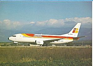 IBERIA  737-300 Jetliner cs9940 (Image1)