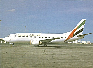 Emirates Airlines 737-300 AP-BCD at Dubai International cs9944 (Image1)