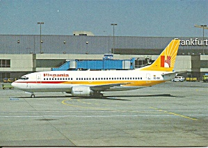 Hispania 737-3y0 At Frankfurt Airport Cs9945