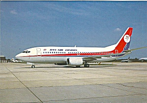 DAN-AIR London 737-300 G-SCUH Jetliner cs9947 (Image1)