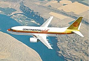 Continental West 737-300 N17306 Jetliner cs9948 (Image1)